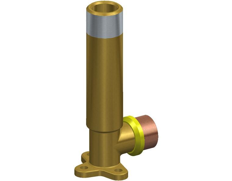 16X15 FK1 GAS ELBOW MI X.1M WBACK BRASS 15MM BSP THR