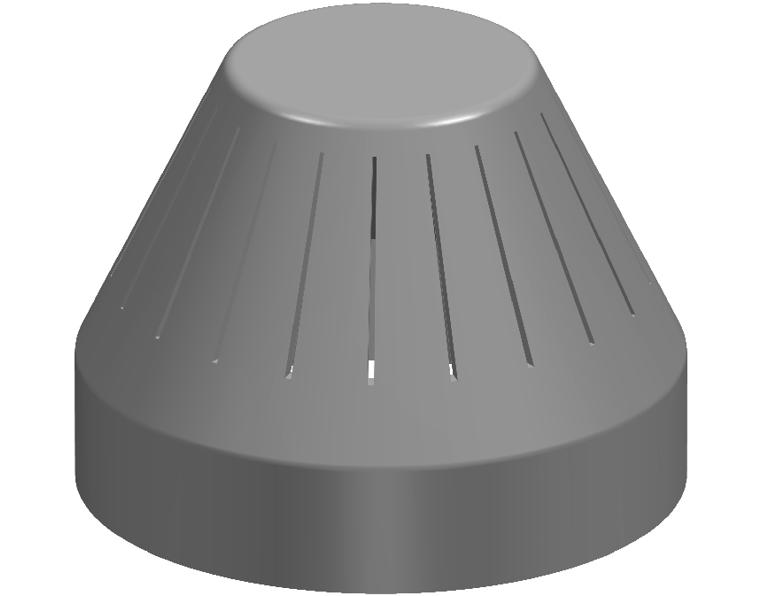 100 DWV VENT COWL INSECT PROOF