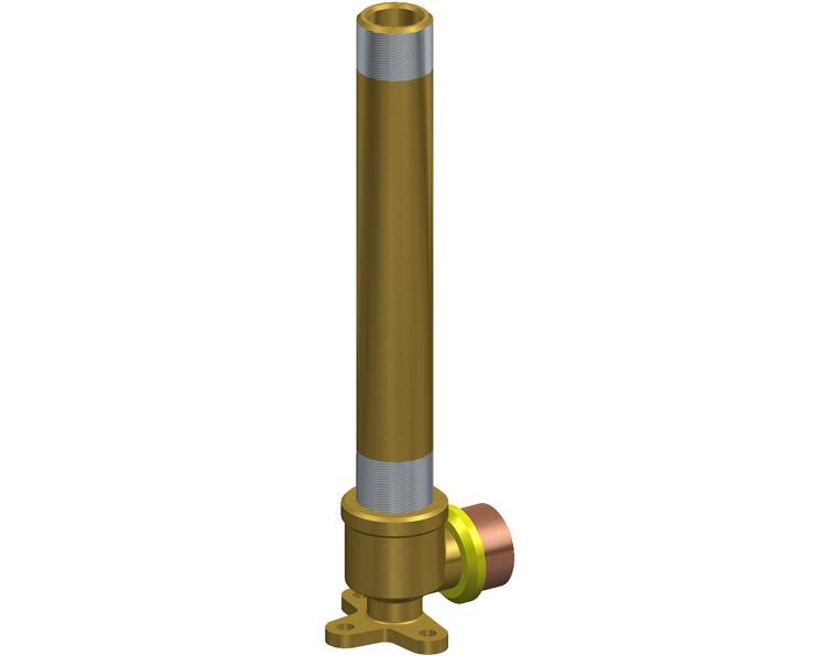 20X15 FK1 GAS ELBOW MI X.18M WBACK BRASS 15MM BSP THR