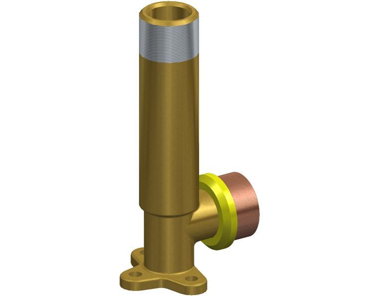 20X15 FK1 GAS ELBOW MI X.1M WBACK BRASS 15MM BSP THR
