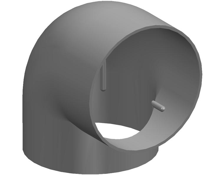 75X90D R/WATER ELBOW FF