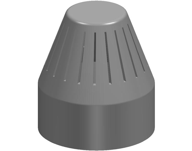 50 DWV VENT COWL INSECT PROOF
